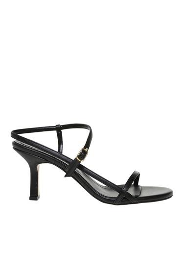 Fabrika Fabrika Siyah Topuklu Ayakkabı Siyah